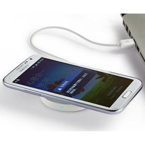 беспроводная зарядка для телефона круглая-1