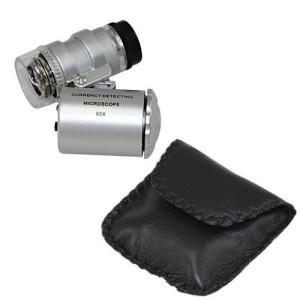 минимикроскоп 60х с подсветкой