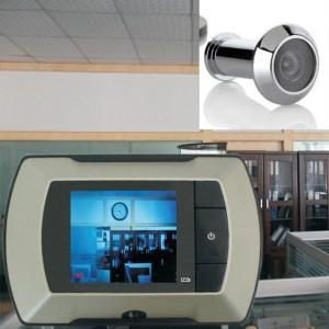 """2.4 """"ЖК видеоглазок (камера + монитор) питание от 2+АА-1"""