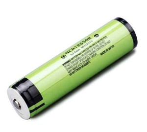 Panasonic NCR18650B Li-ion, 3.7 В 3400 мАч ,с защитой