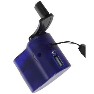USB зарядник, динамо ручной привод, 5В. До 600 мА