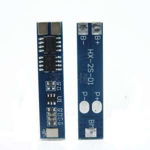 контроллер заряда-разряда для Li-ion батарей, 2 ячейки, до 5А.